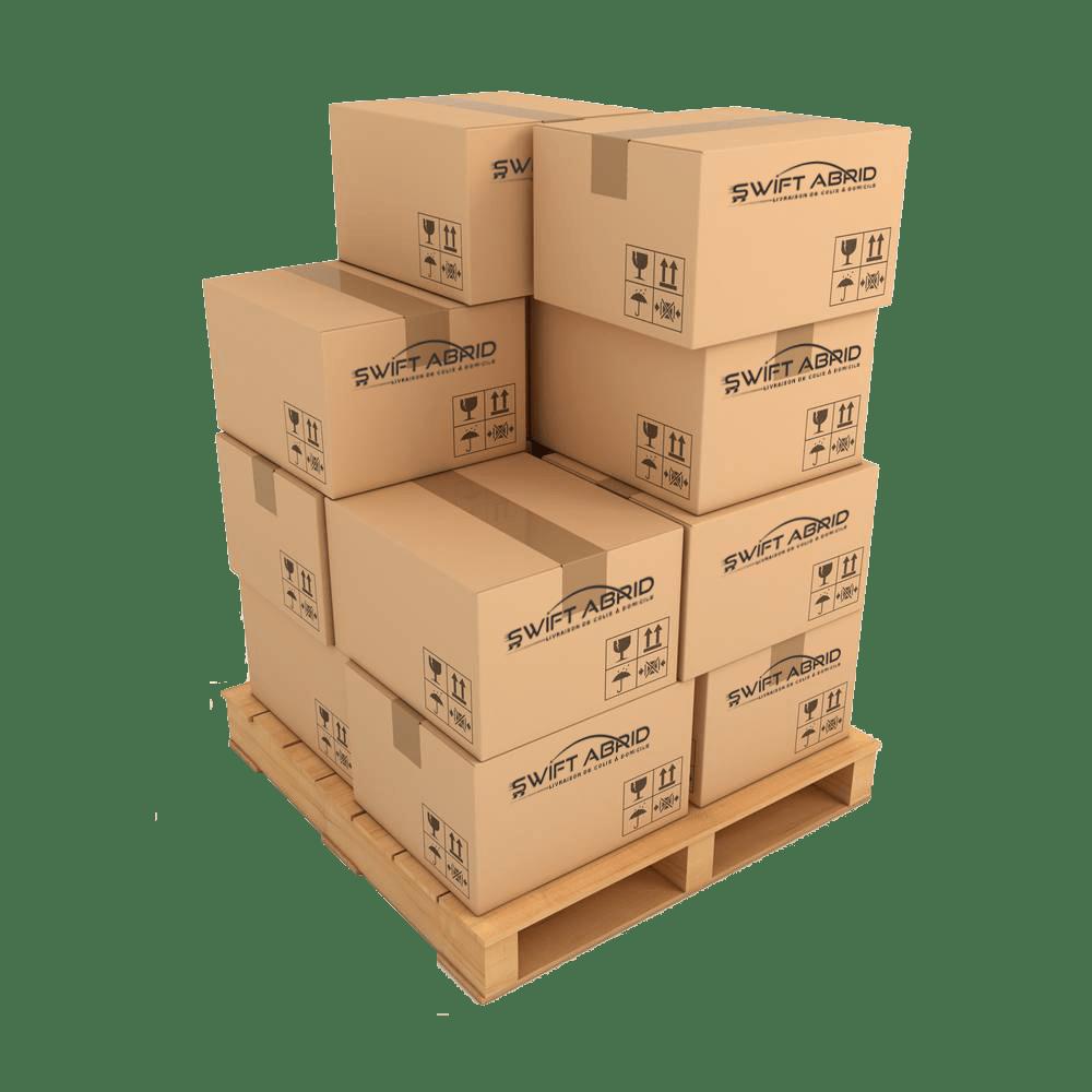 Taux de livraison - Swift Abrid